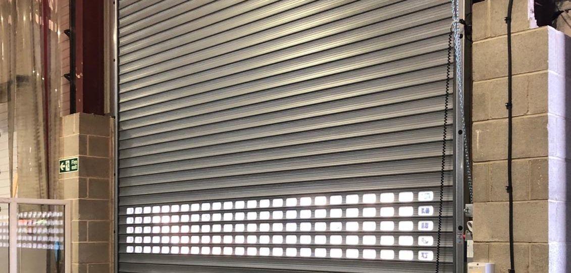 High Speed Insulated Roller Shutter Door